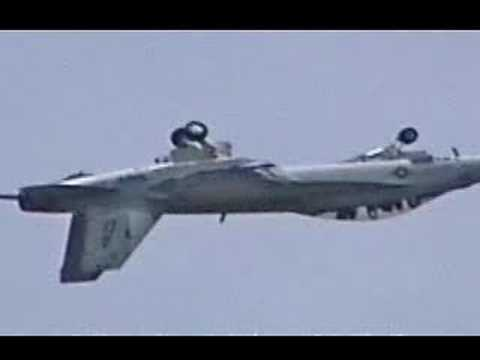 Video shows the F-22, Raptor, F-16...