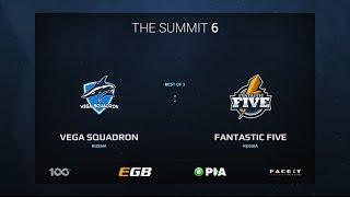 Vega Squadron vs Fantastic Five, Game 2, The Summit 6 Qualifiers, Europe