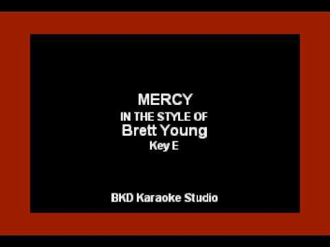 Video Brett Young - Mercy (Karaoke with Lyrics) download in MP3, 3GP, MP4, WEBM, AVI, FLV January 2017