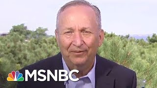 Lawrence Summers, economic expert and Fmr. Treasury Sec. under Clinton, discusses the mass exodus of CEO's from Trump's ...