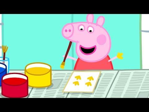 Video Peppa Pig Français   3 Épisodes   La Peinture #PeppaPigEnFrancais download in MP3, 3GP, MP4, WEBM, AVI, FLV January 2017