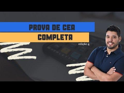 SIMULADO CEA COMPLETO - 70 QUESTÕES DE PROVA - 4ª Edição
