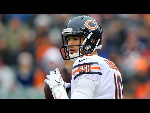 Mitchell Trubisky Outduels Andy Dalton in Bears' Win | Stadium