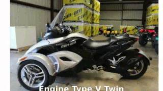 1. 2008 Can-Am Spyder GS Roadster SM5 - Specs & Specification