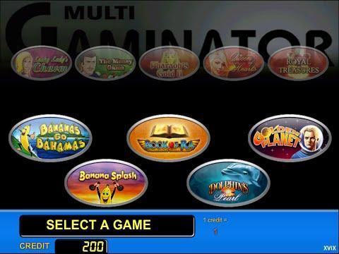 Игровые автоматы novomatic gaminator и igrosoft игровой клуб maxbet