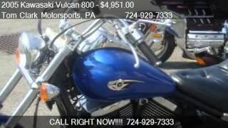 6. 2005 Kawasaki Vulcan 800  - for sale in Belle Vernon, PA 150