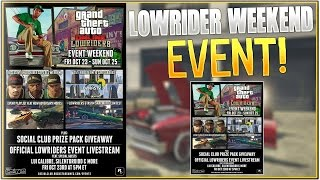 In this GTA 5 Online LowRider DLC video After Patch 1.30, HappyPower explains the new Lowrider DLC Weekend Event (Friday 23 October to Sunday 25th October 20...