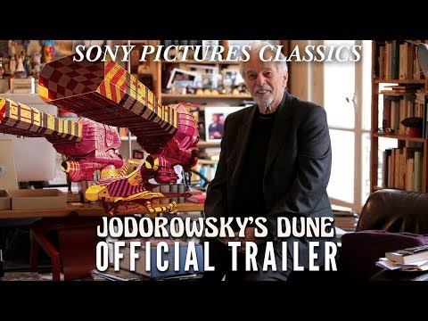 "Jodorwsky's Dune (2014) - Filmmaker Alejandro Jodorowsky discusses how he would have adapted Frank Herbert's classic sci-fi novel ""Dune"" for the big screen. (Trailer)"