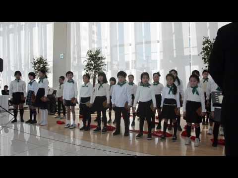 広島市立千田小学校合唱隊2017卒業演奏会 アメージンググレイス