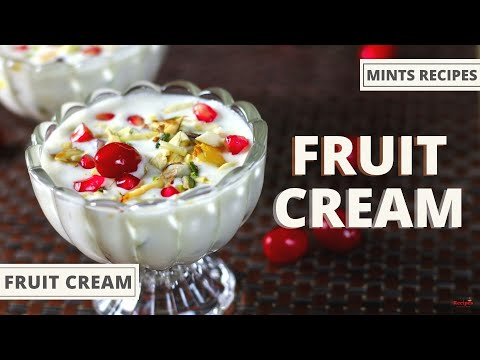 Fruit Cream Recipe | Dessert Recipes | Fruit Cream Salad