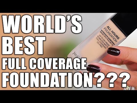 FLAWLESS MATTE FULL COVERAGE FOUNDATION ... WTF