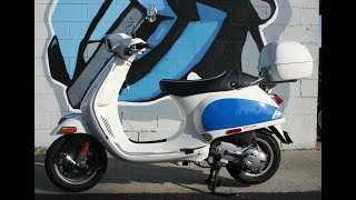 3. 2009 Vespa LX50 S Scooter...Very fun scoot around town!