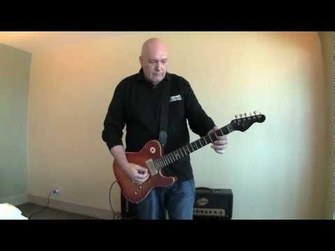 Russell Gray using Ditto Looper and Flashback X4 from TC Electronic.  Filmed at the Hilton Hotel during Namm show (Anaheim) 2013.