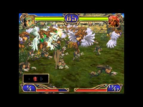 dragon force saturn walkthrough
