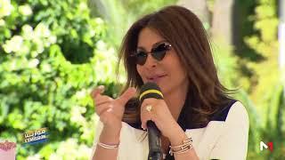 Mawazine l'émission 2019 .. حوار مع الفنانة إليسا