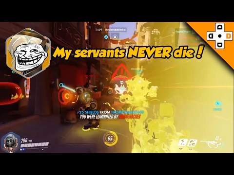 Overwatch FUNNY & EPIC Moments 32 - WORST Mercy Rez Ever?! - Highlights Montage