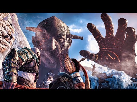 God of War 4 - Final Boss Fight (God of War 2018) PS4 Pro (видео)