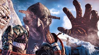 God Of War 4 - Final Boss Fight God Of War 2018 PS4 Pro