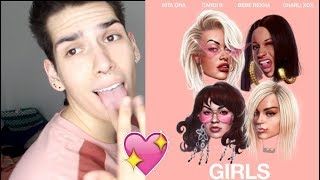 Video Rita Ora - Girls (feat. Cardi B, Bebe Rexha & Charli XCX) REACTION! MP3, 3GP, MP4, WEBM, AVI, FLV Mei 2018