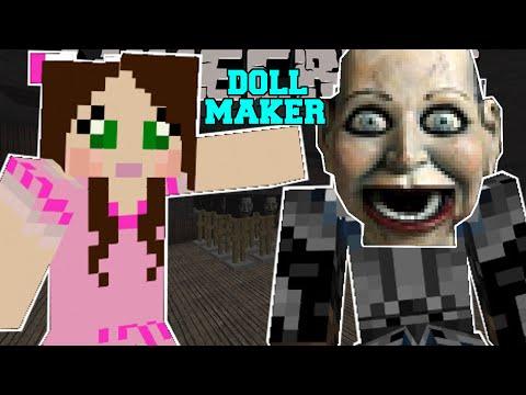 Minecraft - THE CREEPY DOLL FACTORY! - The Doll Maker - Custom Map