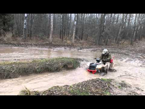 2013 Polaris scrambler getting muddy