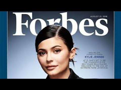Kylie Jenner to be 'youngest self made US billionaire'