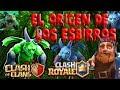 EL ORIGEN DE LOS ESBIRROS- EL ORIGEN DEL ESBIRRO BETA TEORÍA [CLASH ROYALE & CLASH OF CLANS]