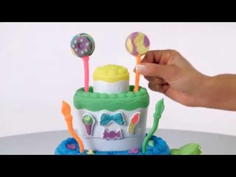 """Игровой набор Play-Doh """"Праздничный торт"""""""