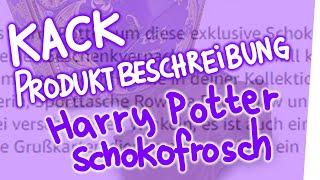 Video Kack Produktbeschreibung - Harry Potter Schokofrosch MP3, 3GP, MP4, WEBM, AVI, FLV Agustus 2018