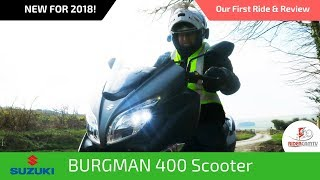 5. 2018 Suzuki Burgman Scooter | Our First Ride and Review