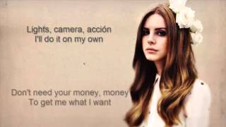 Lana Del Rey - High By The Beach (LYRICS)