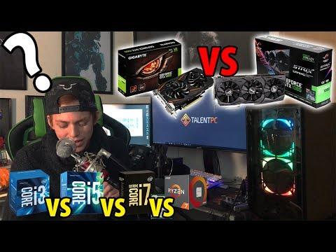 Guia de una PC Gamer | i3,i5 ó i7? - 1050, 1060, RX 560, 1080ti ?? - Qué es lo que necesitas?