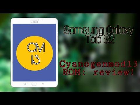 CM13 ROM review: Samsung Galaxy Tab S2!