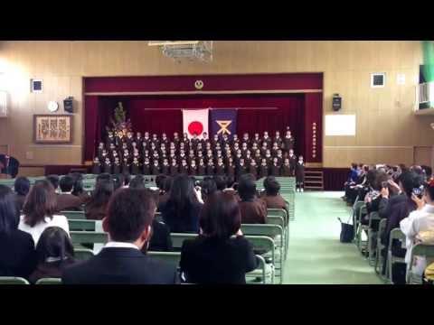 2013年 3月19日 大阪市立田辺小学校 卒業式