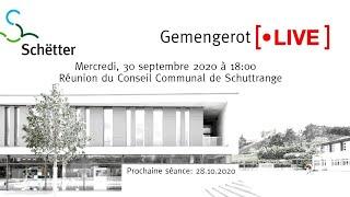 Sitzung vum 30.09.2020