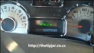 Reset de Luz de advertencia Ford Expedition 2007