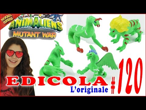 EDICOLA #120: ANIMALIENS Mutant War Nuova Serie (by Giulia Guerra) (видео)
