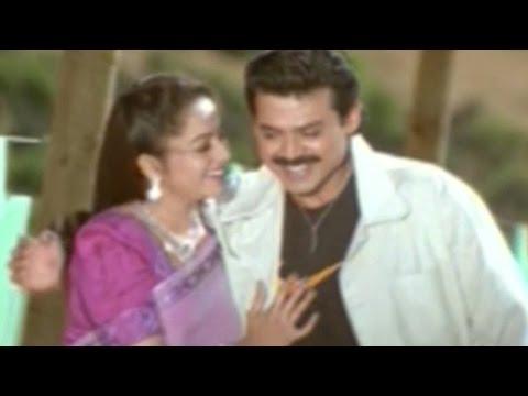 Raja Movie || Edo Oka Raagam Video Songs || Venkatesh, Soundarya