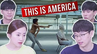 """Video Koreans React to """"This Is America"""" by Childish Gambino MP3, 3GP, MP4, WEBM, AVI, FLV Agustus 2018"""