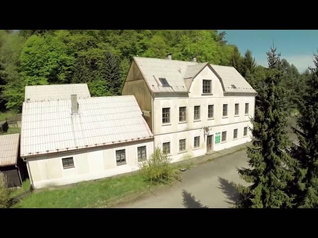 Letecké video k prodeji penzionu v Blatcích Kokořínsko