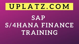 SAP Simple Finance and S/4HANA Finance Training