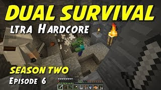 """Minecraft Dual Survival   S2E6   """"The Final Stand!"""" (UHC Meets 404!)"""