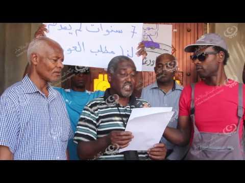 احتجاج بعض أهالي تاورغاء على إتفاق العودة