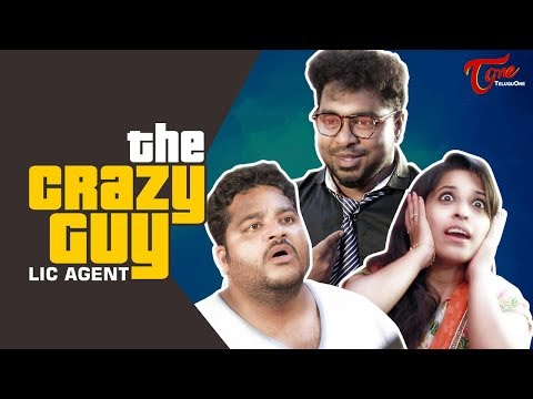 The Crazy Guy (LIC Agent) | Comedy Short Film | Fun Bucket Bharath