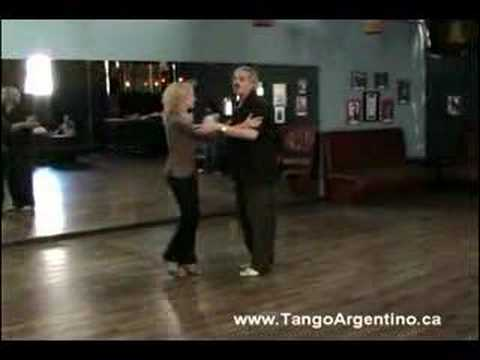 Argentine Tango Class Enganchadas and Crosses in double time