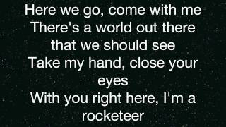 Far East Movement- Rocketeer- Lyrics (On Screen)