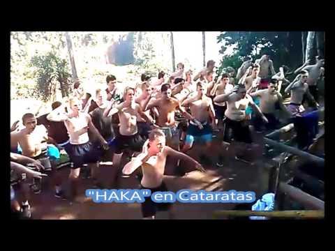 """El """"haka"""" neozelandés vibró en Cataratas"""