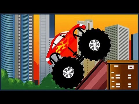 Monster Truck Destroyer - All 12 levels - Walkthrough