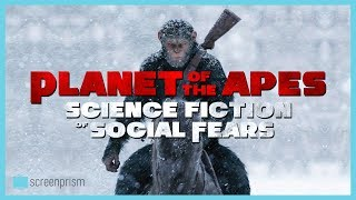 War for the Planet of the Apes, releasing everywhere July 14, is another example of the franchise using the parable of apes ruling over humans to convey deep fears and challenges of the society of its times, each time creating a new, innovative story supplemented by cutting edge visuals.Sign up to our email newsletter for updates on new videos, fun film trivia, news on giveaways, longform content, events and more! http://bit.ly/2oVVB1QIf you like this video, subscribe to our YouTube channel for more: http://www.youtube.com/c/ScreenprismLike ScreenPrism on Facebook: http://www.facebook.com/screenprismFollow ScreenPrism on Twitter: http://twitter.com/screenprismVisit ScreenPrism.com: http://screenprism.com/