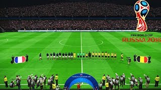 PES | FRANCE vs BELGIUM | FIFA World Cup 2018 | Full Match | Gameplay PC
